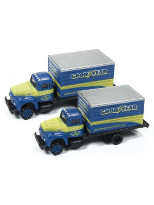 classic metal works 50378 goodyear box truck
