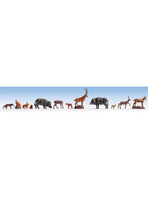 noch 36745 forest animals n scale