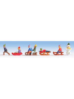 noch 36819 children in snow