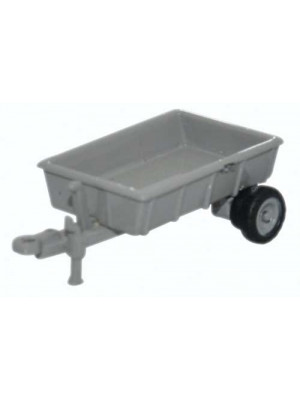oxford nfarm002 farm trailer grey