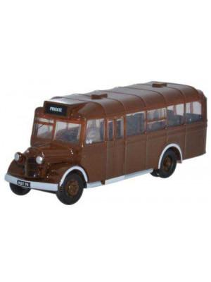 oxford nowb002 bedford owb bus brown