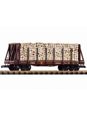 piko 38755 prr bulkhead w/pulpwood load