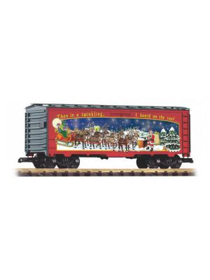 piko 38884 christmas boxcar 2018