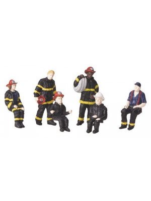 mth 30-11046 FIRE HOUSE FIGURE SET #2