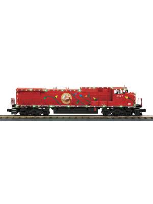 christmas dash-8 diesel w/leds