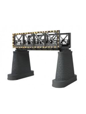 mth 1118 girder bridge w/white lights