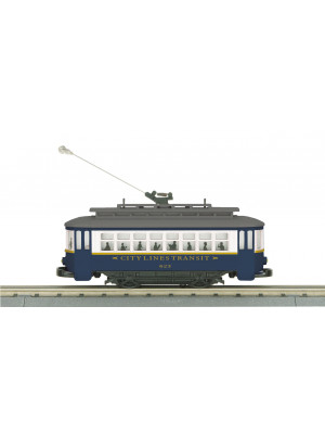 railking 5176 city lines bump n go trolley