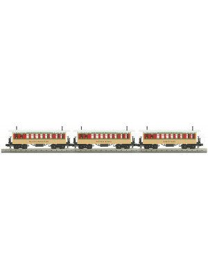 railking 6443 christmas overton pass car set