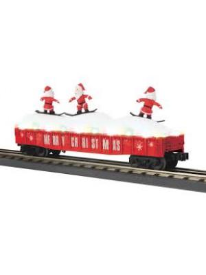 railking 72194 xmas gondola leds/santas