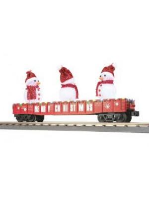 railking 72210 snowman gondola w/leds