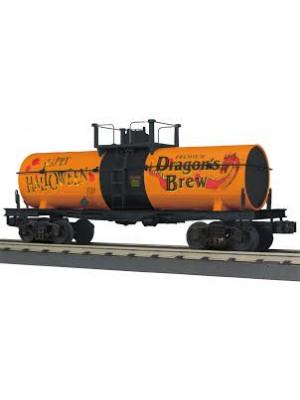 railking 73535 halloween smoking tank car