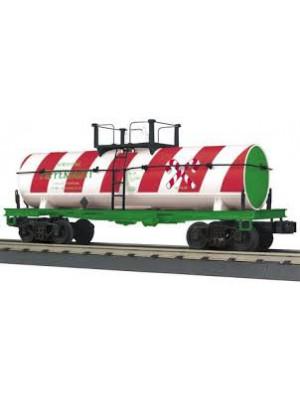 railking 73536 christmas smoking tank car