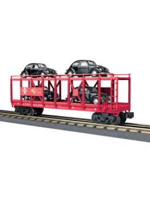 railking 76680 santa fe auto carrier 4 vw's