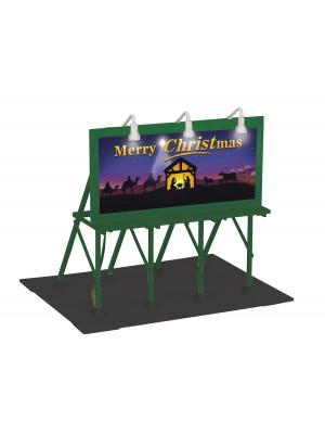 railking 90585 christmas lighted billboard