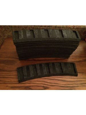 johnson rubber roadbed for lionel 054 curved track