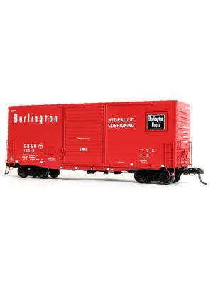 tangent scale models cb&q high cube box car