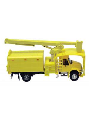 scenemaster 11743 tree trimmer truck yellow