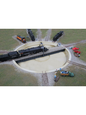 walthers cornerstone 2618 motorized 130' turntable