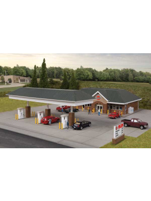 walthers cornerstone 3537 modern gas station