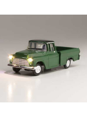 woodland scenics 5590 green pickup w/lights