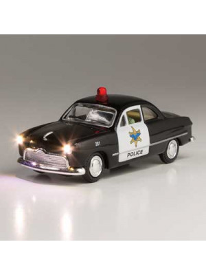 woodland scenics 5593 police car w/lights