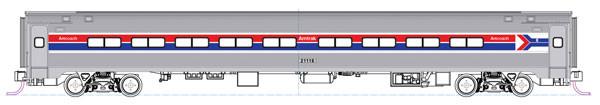 kato 1068012 amtrak amfleet coach set a 2pk