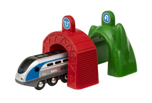 brio 33834 smart tech engine w/tunnels