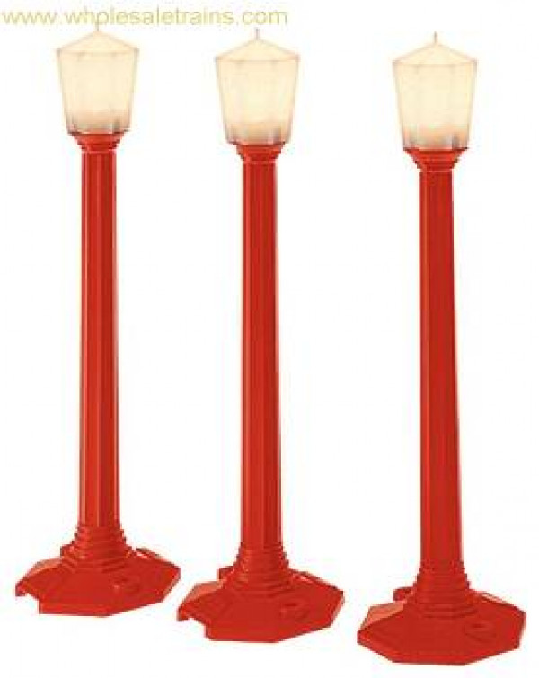 lionel 37151 christmas street lamps 3 pack