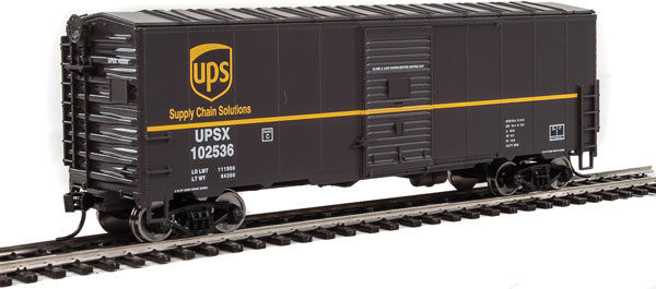walthers mainline 1180 ups 40' boxcar
