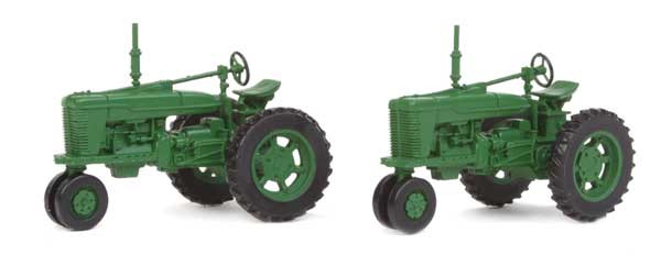 walthers 4161 farm tractor green 2pk