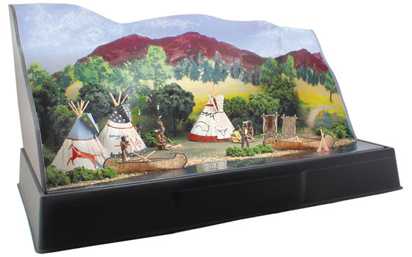 woodland scenics 4133 tepee village kit