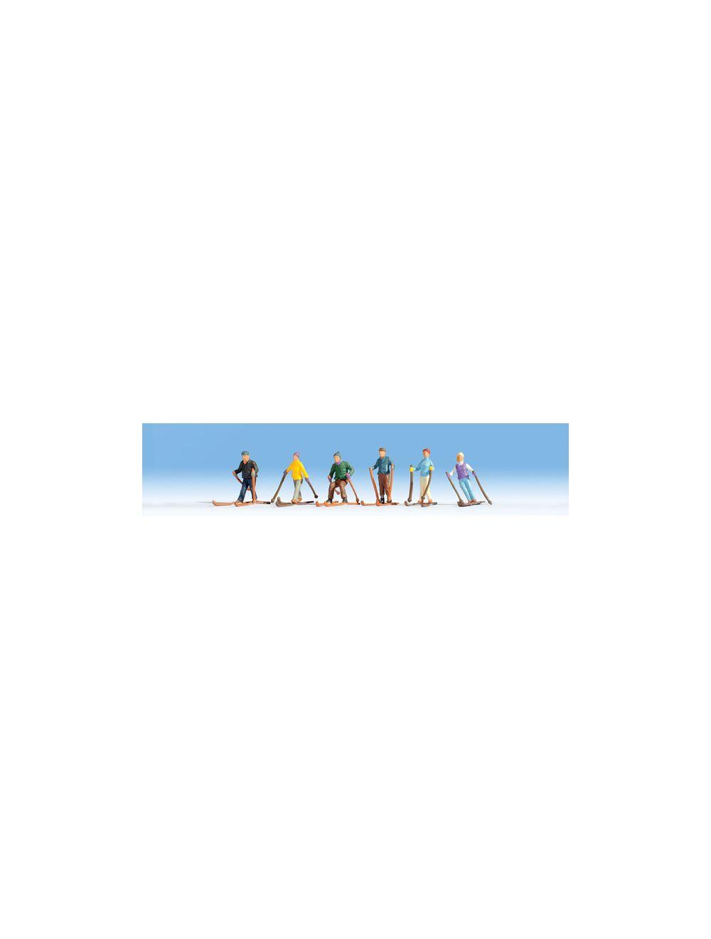 Esquiadores ref.36828 Noch